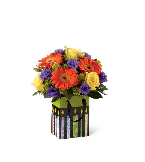 The FTD® Perfect Birthday Orange Bouquet