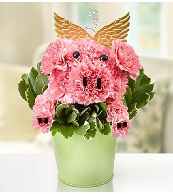 Piggie Flower Pail™