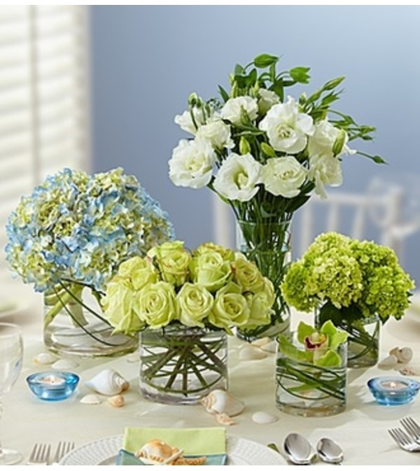 Beach Wedding Centerpiece Package Sunnyvale Ca Florist