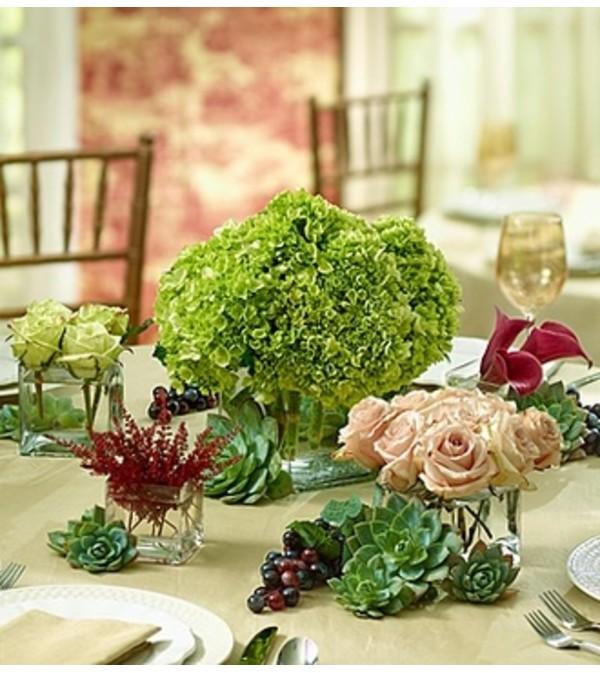 Vineyard Wedding Centerpiece Package