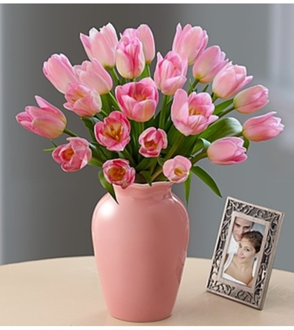 Tulips Together Bouquet™ - Pink