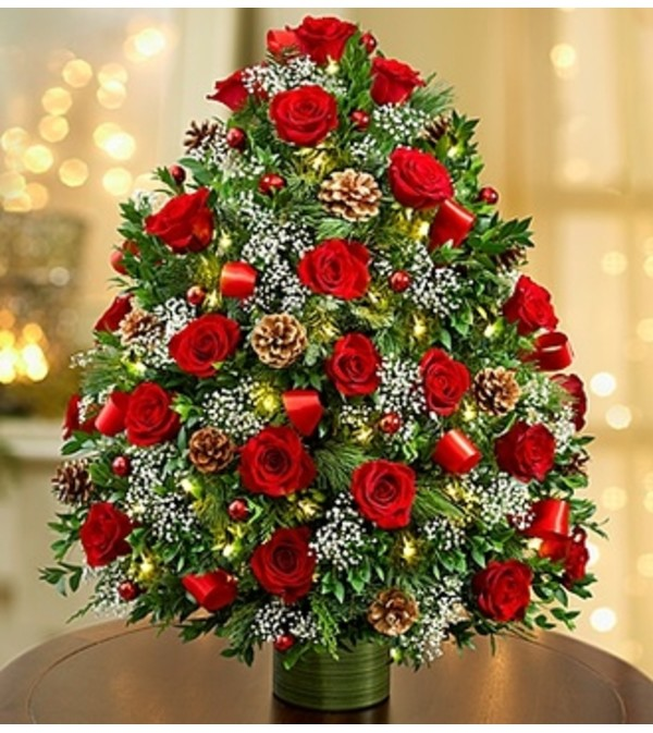 Holiday Flower Tree® Luxury - Red