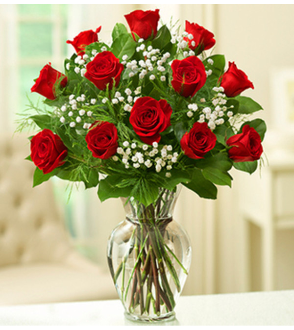 Rose Elegance™ Long Stem Red Roses