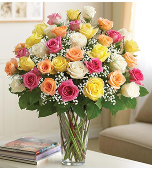 Ultimate Elegance™ Long Stem Assorted Roses