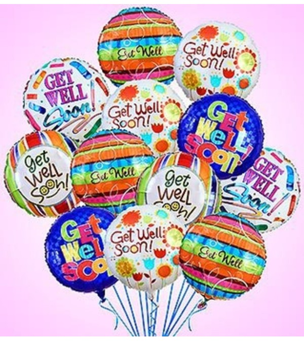 Air-Rangement® - Get Well Mylar Balloons