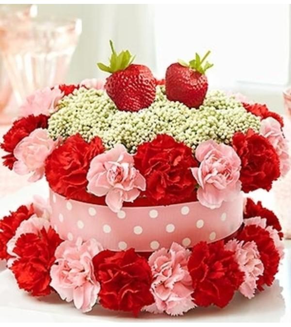 Fresh Flower Cake™ Strawberry Shortcake