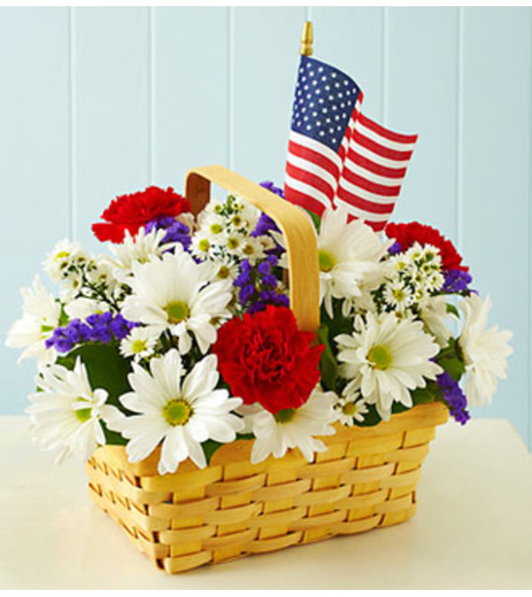 Red, White & Blooms Bouquet