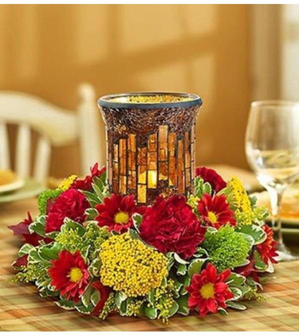 Harvest Glow™ Centerpiece for Autumn
