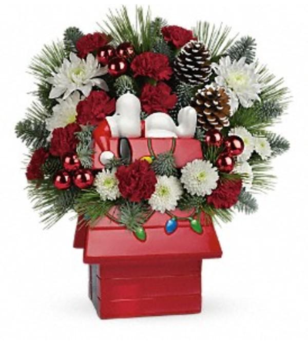 Snoopy Cookie Jar Bouquet TF