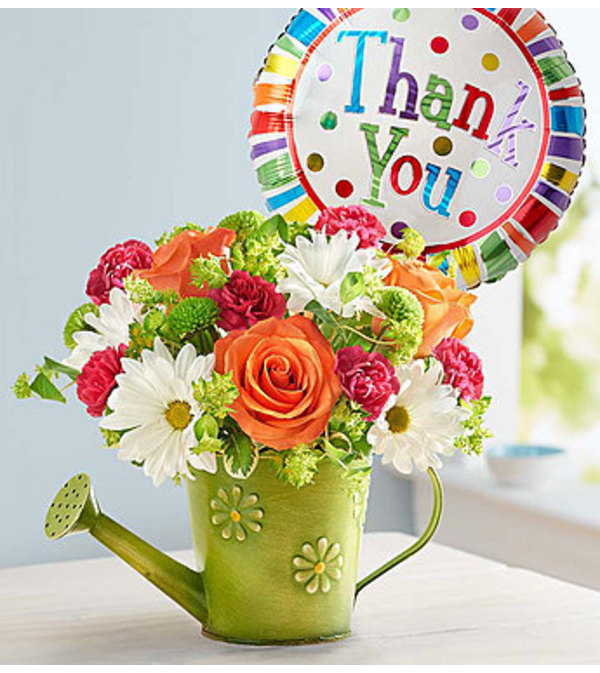 Showers of Flowers™ Thank You with Daisies - Burlington, NC Florist