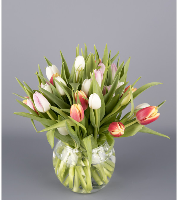 Totally Tulips Bowl