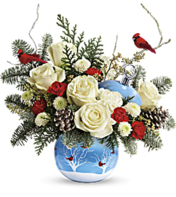 Teleflora's Winter Flock Bouquet