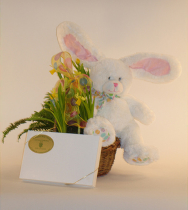Large Easter Bunny Basket