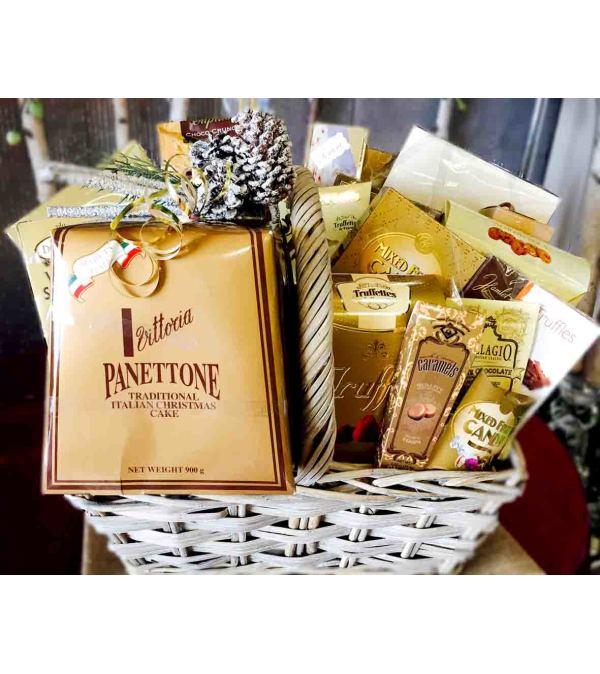 Delicious Treats Gourmet Gift Basket
