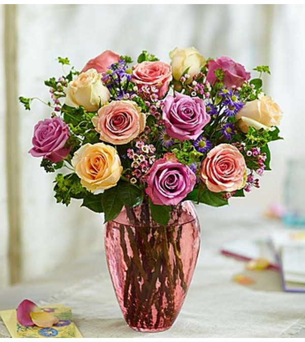 Rose Lovers Bouquet™ Long Stem Assorted Roses