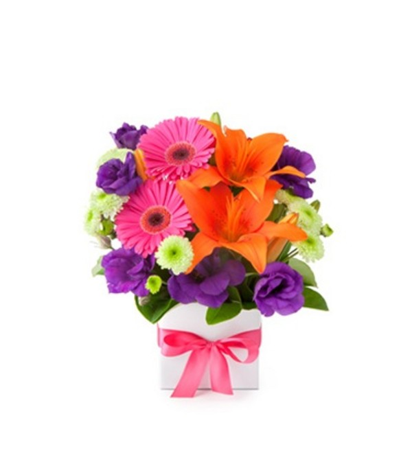 the Color and more Color Bouquet