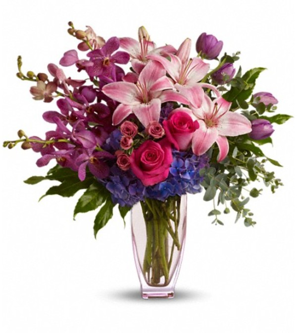 Teleflora's Purple Perfection