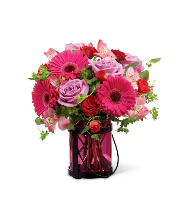 The ftd pink exuberance bouquet south woodstock ct florist the ftd pink exuberance bouquet mightylinksfo