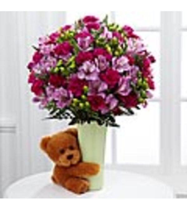 FTD Big Hug Green Bouquet Deluxe