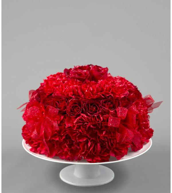A Red Velvet Cake