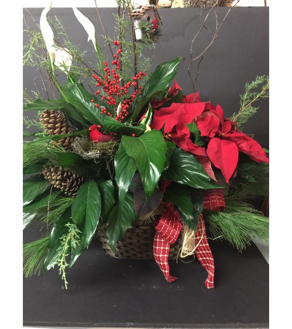 Holiday Planter Baskets