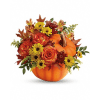 Teleflora's Warm Fall Wishes Bouquet standard
