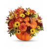Teleflora's Warm Fall Wishes Bouquet deluxe