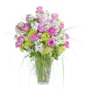 Peaceful Pink Elegance Vase