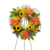 Heaven's Sunset Wreath premium