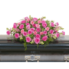 Peaceful Pink Casket Spray deluxe