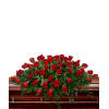 Classic Rose Casket Spray deluxe