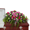 Forever Cherished Casket Spray deluxe