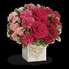 Swirling Heart Cube Vase