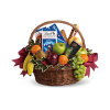 Fruit and sweets Basket deluxe