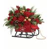 Vintage Sleigh bouquet standard
