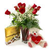 Dozen Roses Bundle