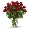 Red Roses Arranged deluxe