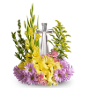 Crystal Cross Bouquet standard