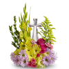 Crystal Cross Bouquet deluxe