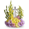 Our Crystal Cross Bouquet standard
