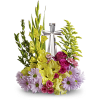 Our Crystal Cross Bouquet deluxe