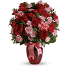 The Dance With Me Bouquet With Red Roses