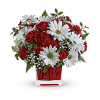 The Red And White Delight Bouquet