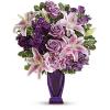 Blushing Violet Bouquet