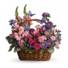 Country Basket Blooms Bouquet standard