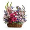 Country Basket Blooms Bouquet premium