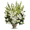 Clouds Of Heaven Bouquet by Teleflora