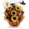 The Trick or Treat Bouquet deluxe