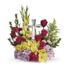 The Crystal Cross Bouquet