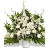 Elegant White Traditional Display